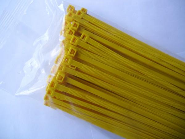 4,8x200mm Kabelbinder in gelb