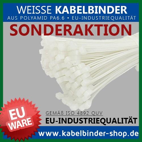 3,6x290mm Kabelbinder in Natur