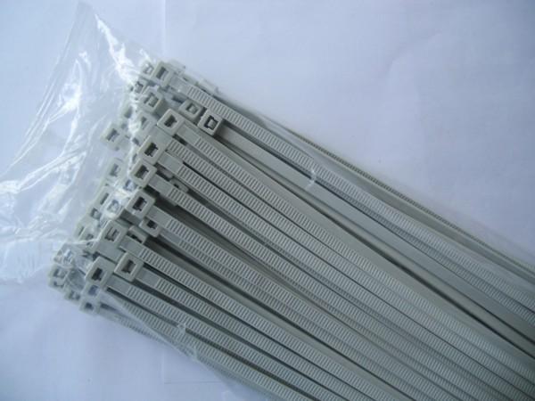 2,6x100mm Kabelbinder in grau